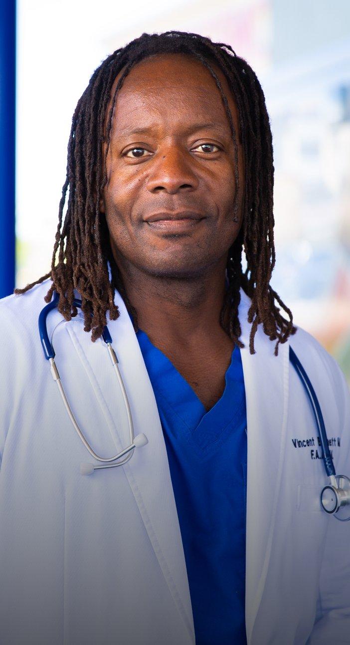 Dr. Vincent Bennett, Emergency Physician