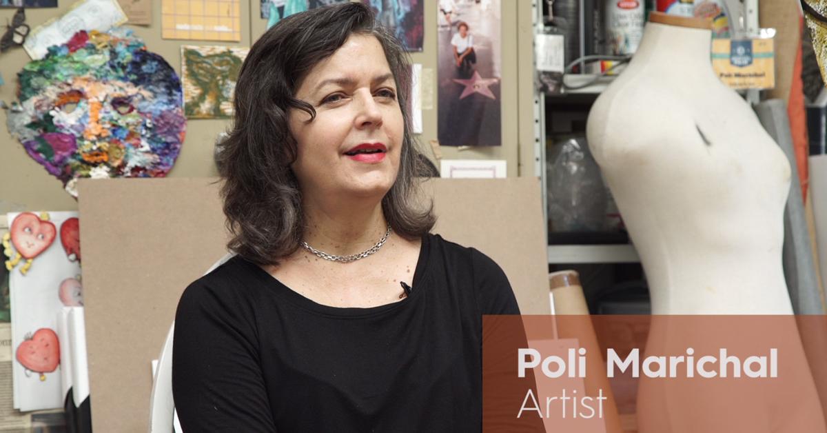 We Are Los Angeles Artist - Poli Marichal
