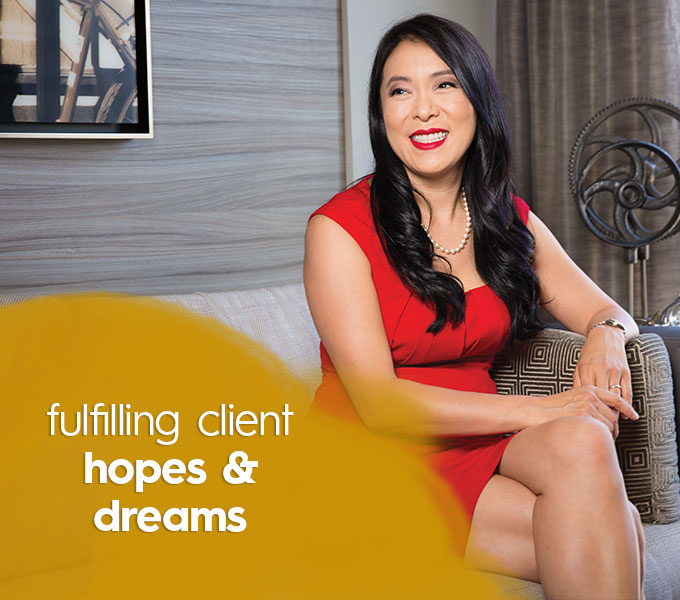 Fulfilling client hopes and dreams