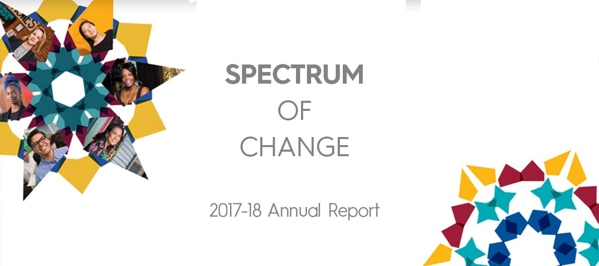 Spectrum of Change: CCF's 2017-18 Annual Report