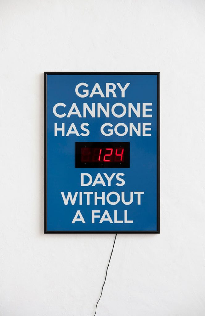 "Gary Cannone, ""Gary Cannone Has Not Fallen"""