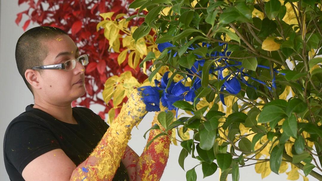"Neha Choksi, ""In Leaf (Primary Time)"""
