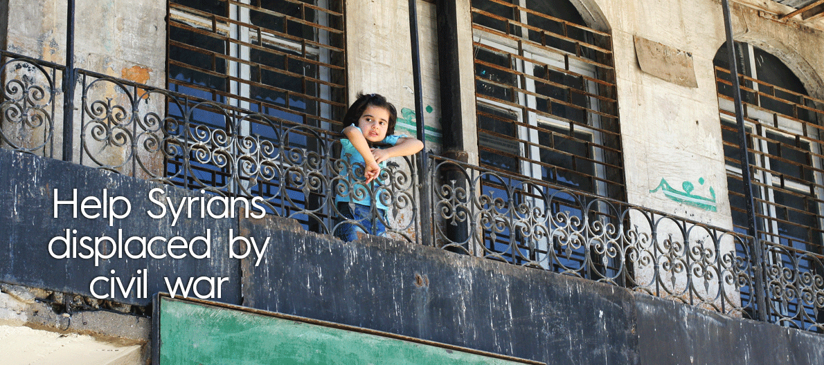 Help Syrians displaced by civil war: http://calfund.org/aleppo