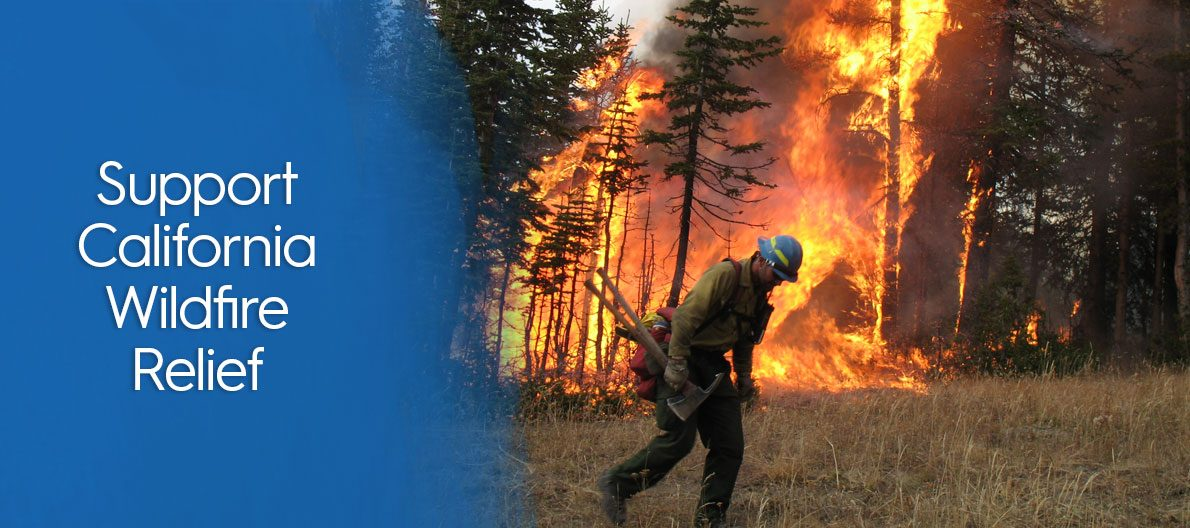 Support California Wildfire Relief
