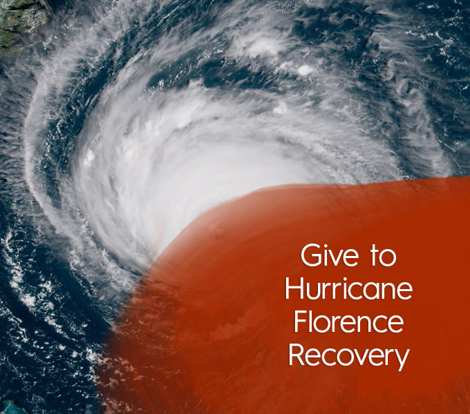 Give to Hurricane Florence Recovery