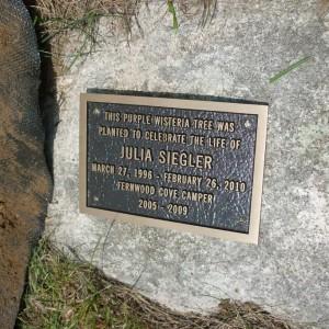 In Memory of Julia