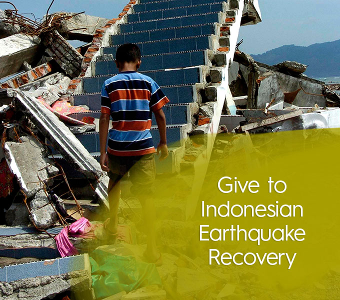 Give to Indonesian Earthquake Relief