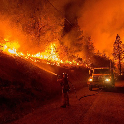 Support Southern California Wildfire Relief.